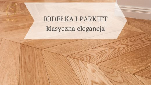 drewniana jodełka francuska