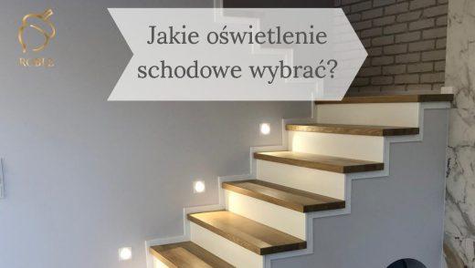 jakie wybrać oświetlenie schodów?