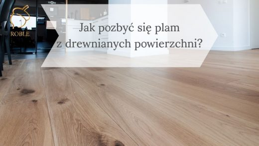 drewniana podłoga bielona