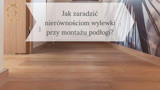 dębowa podłoga w korytarzu
