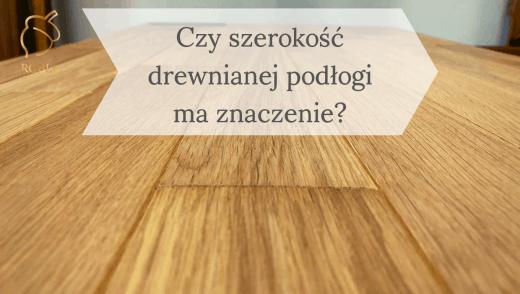 podłoga dębowa drewniana