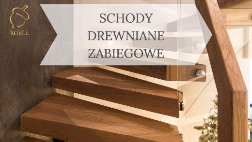 schody półkowe drewniane