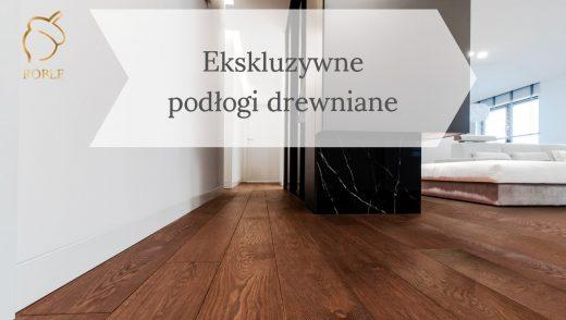 ciemna podłoga drewniana