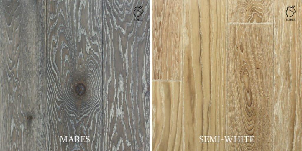 podłogi drewniane z efektami bielenia