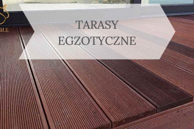taras z drewna egzotycznego