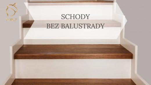 schody drewniane dębowe na beton
