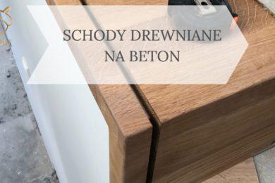 montaż drewnianych stopnie