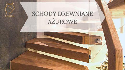 schody półkowe ażurowe